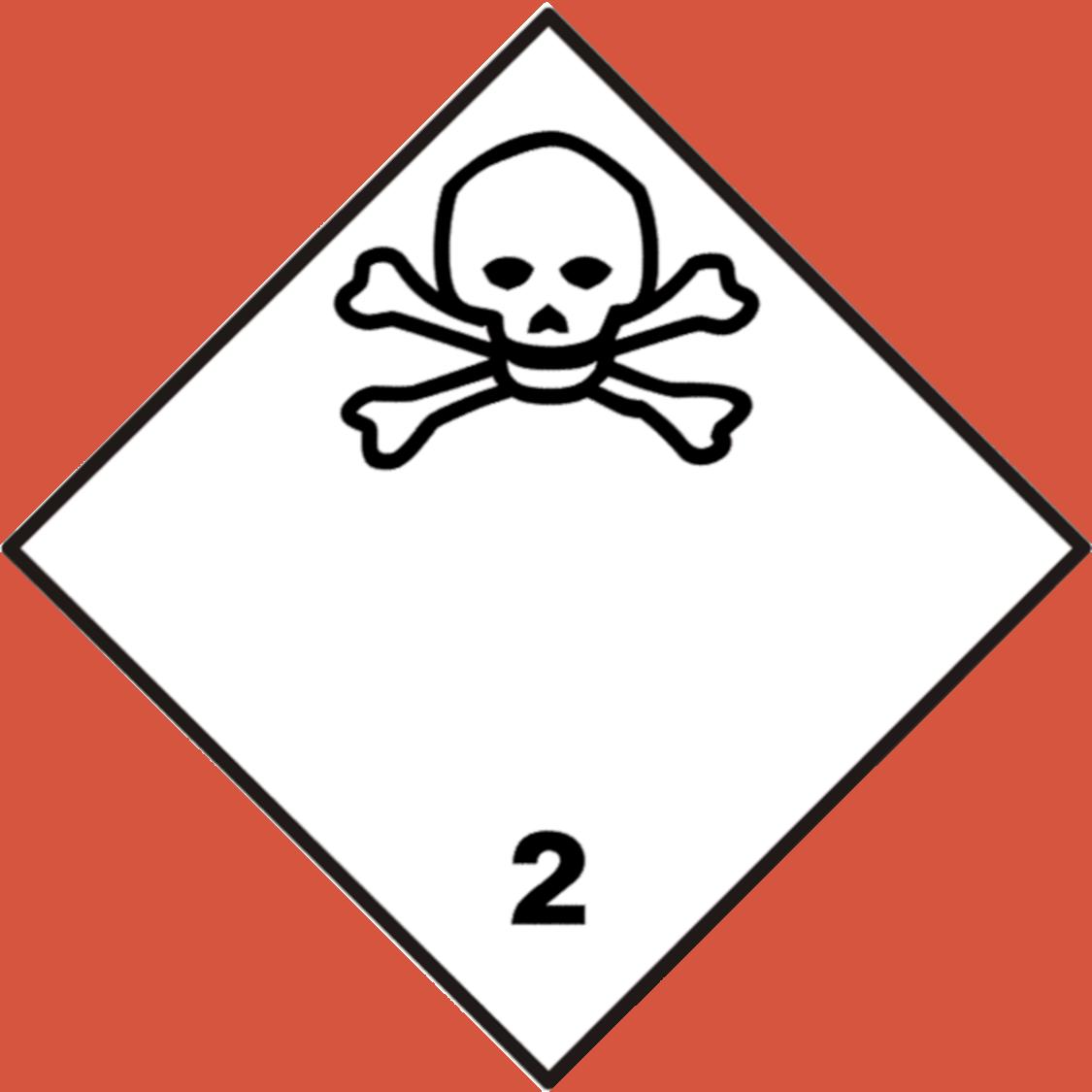 Mürgiste gaaside märgis
